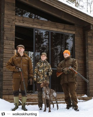 #Repost @woikoskihunting  ・・・ Fasaanijahdit WHD Gårdilla tarjoavat elämyksiä metsästyksen parissa sekä yhteistä aikaa hy...